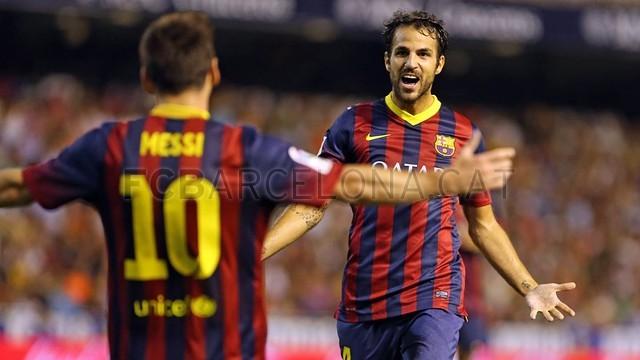 خلاصه بازی بارسلونا 3-2 والنسیا