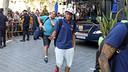 Neymar, arribat a l'hotel de concentració de València / FOTO: MIGUEL RUIZ - FCB