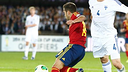 Jordi Alba auteur du premier but / PHOTO: sefutbol.com