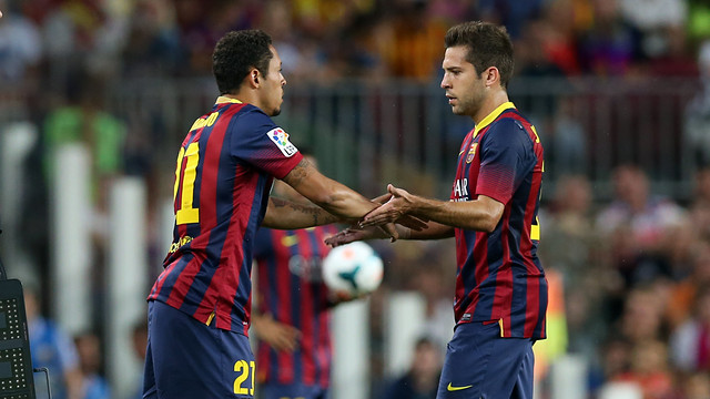 Jordi Alba / PHOTO: MIGUEL RUIZ - FCB