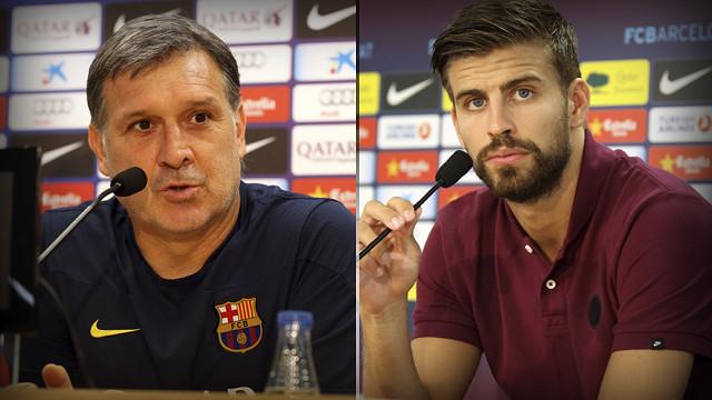 Gerard Piqué i Gerardo Martino