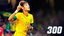 Neymar arriba als 300 partits.