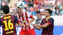 Busquets and Bartra / PHOTO: MIQUEL RUIZ - FCB