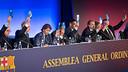 L'Assemblea aprova el pressupost per a la temporada 2013/14 / FOTO: GERMÁN PARGA - FCB