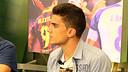 Marc Bartra va estar a 'El Marcador' de Barça TV / FOTO: MIGUEL RUIZ - FCB