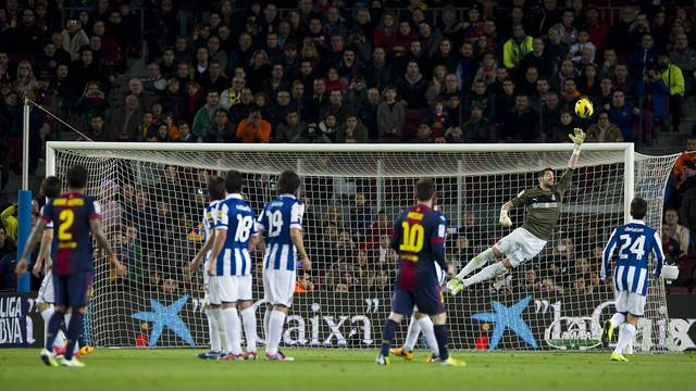 Last season's Camp Nou derby. PHOTO: ÀLEX CAPARRÓS-FCB