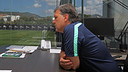 Tata Martino in his office at the Ciutat Esportiva / PHOTO: MIGUEL RUIZ - FCB