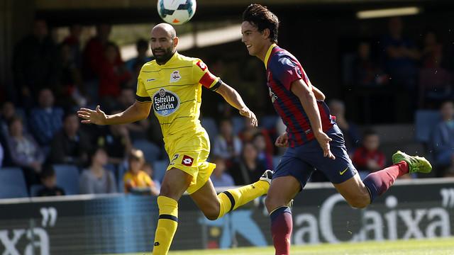 Edu Bedia (Barça B), and Manuel Pablo (Deportivo)