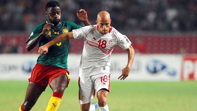 Song, during the game against Tunisia / PHOTO: FIFA.COM
