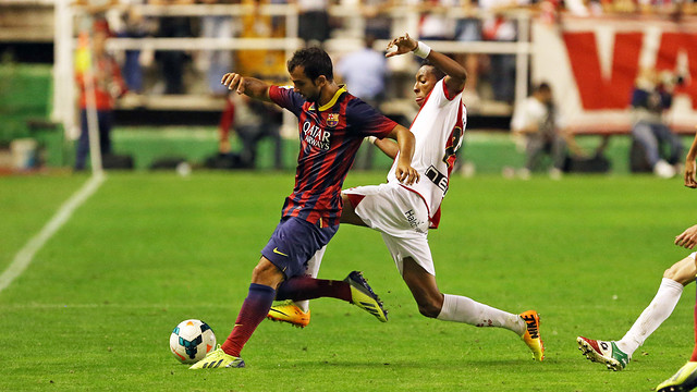 Montoya, during a game. PHOTO: MIGUEL RUIZ-FCB.