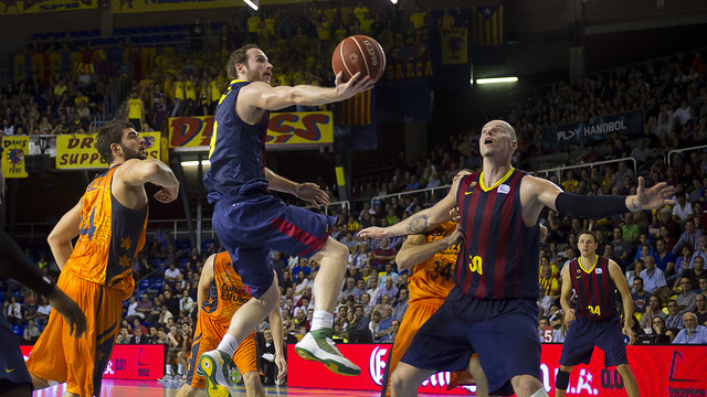 marcelinho at the palau blaugrana