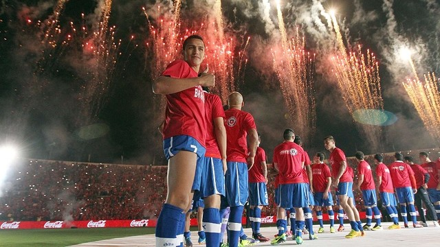 Alexis with Chile / PHOTO: www.anfp.cl