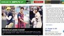 ESPN's cover featuring Messi