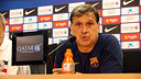 Tata Martino at the press conference ahead of the game against  Celta / PHOTO: MIGUEL RUIZ - FCB