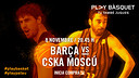 Barça face CSKA Moscow this evening