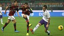 Action from AC Milan versus Fiorentina / PHOTO: AC Milan