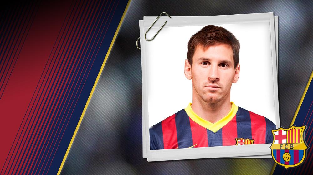 Retrato de Messi