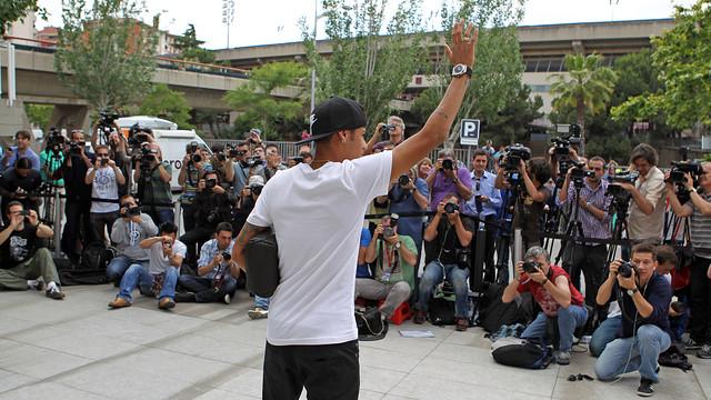 Un estudio revela que Neymar es el jugador preferido en Brasil