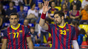 Karabatic and Lazarov /PHOTO:ARXIU-FCB