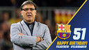 Gerardo Martino's 51th birthday