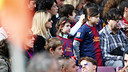 The Club has guaranteed 3,000 seats allocated to the project 'Children at the Camp Nou' / PHOTO: FCB ARCHIVE