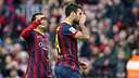 Cesc scored goal number 2,500 in the League at the Camp Nou / PHOTO: MIGUEL RUIZ-FCB