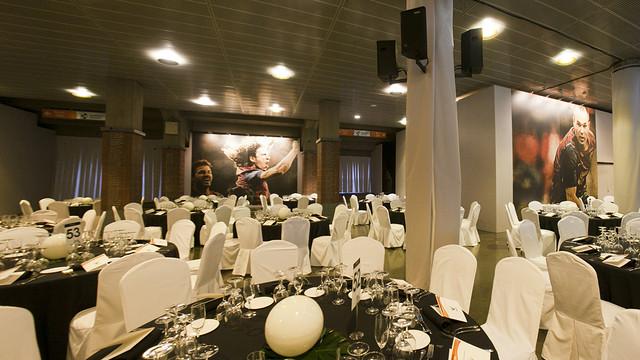Banquet dinner in Grandstand hall