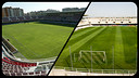 The Miniestadi and the Cartagonova are practically identical