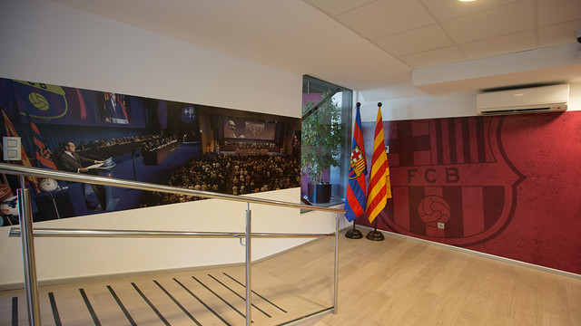 Panoramic view of the Penyes Office