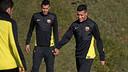 Tello in training on Tuesday / PHOTO: MIGUEL RUIZ-FCB