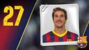 Imatge oficial de Viran amb la samarreta del FC Barcelona