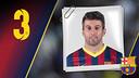 Imatge oficial de Torras amb la samarreta del FC Barcelona