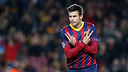 Piqué socers goal 1,000 for Barça in international competitions / PHOTO: MIGUEL RUIZ-FCB