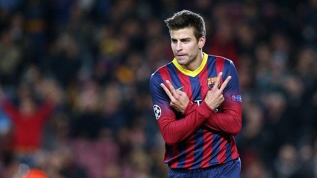 Piqué socers goal 1,000 for Barça in international competitions