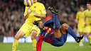 Le but de Ronaldinho (2006/07). PHOTO: MIGUEL RUIZ-FCB.