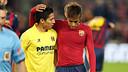 Neymar vs Villarreal. PHOTO: MIGUEL RUIZ-FCB.