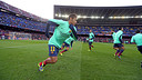 Neymar Jr, during training / PHOTO: MIGUEL RUIZ-FCB