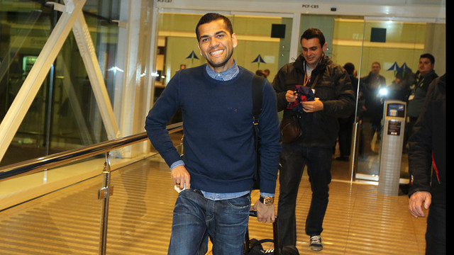 Dani Alves / PHOTO: MIGUEL RUIZ - FCB