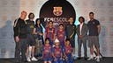 Photo from the inauguration of the new FCBEscola