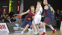 Oleson, one of the men who played in the final of the Super Cup at the beginning of October / PHOTO: ACB