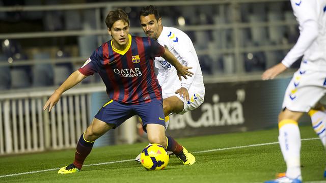 Suaréz v UD Las Palmas / PHOTO: ARCHIVE - FCB
