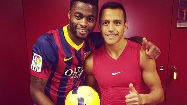 Song i Alexis, junts després del partit / FOTO: 17alexsong (Instagram)