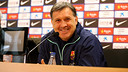 Tata Martino was speaking ahead of the cup tie with Getafe. PHOTO: MIGUEL RUIZ-FCB.