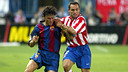 When Sergi Barjuan left for Atlético, Luis Enrique inherited his captain's armband / PHOTO: FCB ARCHIVE