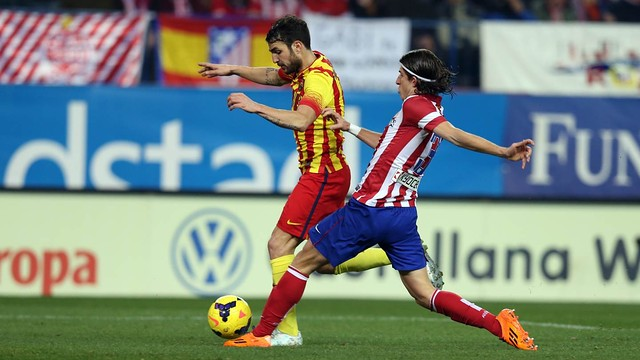 Cesc and Filipe Luis / PHOTO: MIGUEL RUIZ - FCB