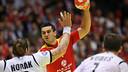 Kiril Lazarov, autor de 12 goles. / FOTO:EHF
