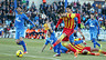 Piqué vs Getafe in the league.