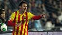 Messi got a brace of goals against Getafe. PHOTO: MIGUEL RUIZ - FCB