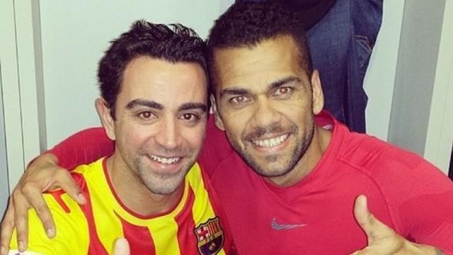 Xavi i Dani Alves