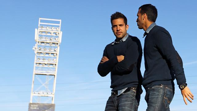 Alba and Pedro / PHOTO: MIGUEL RUIZ - FCB